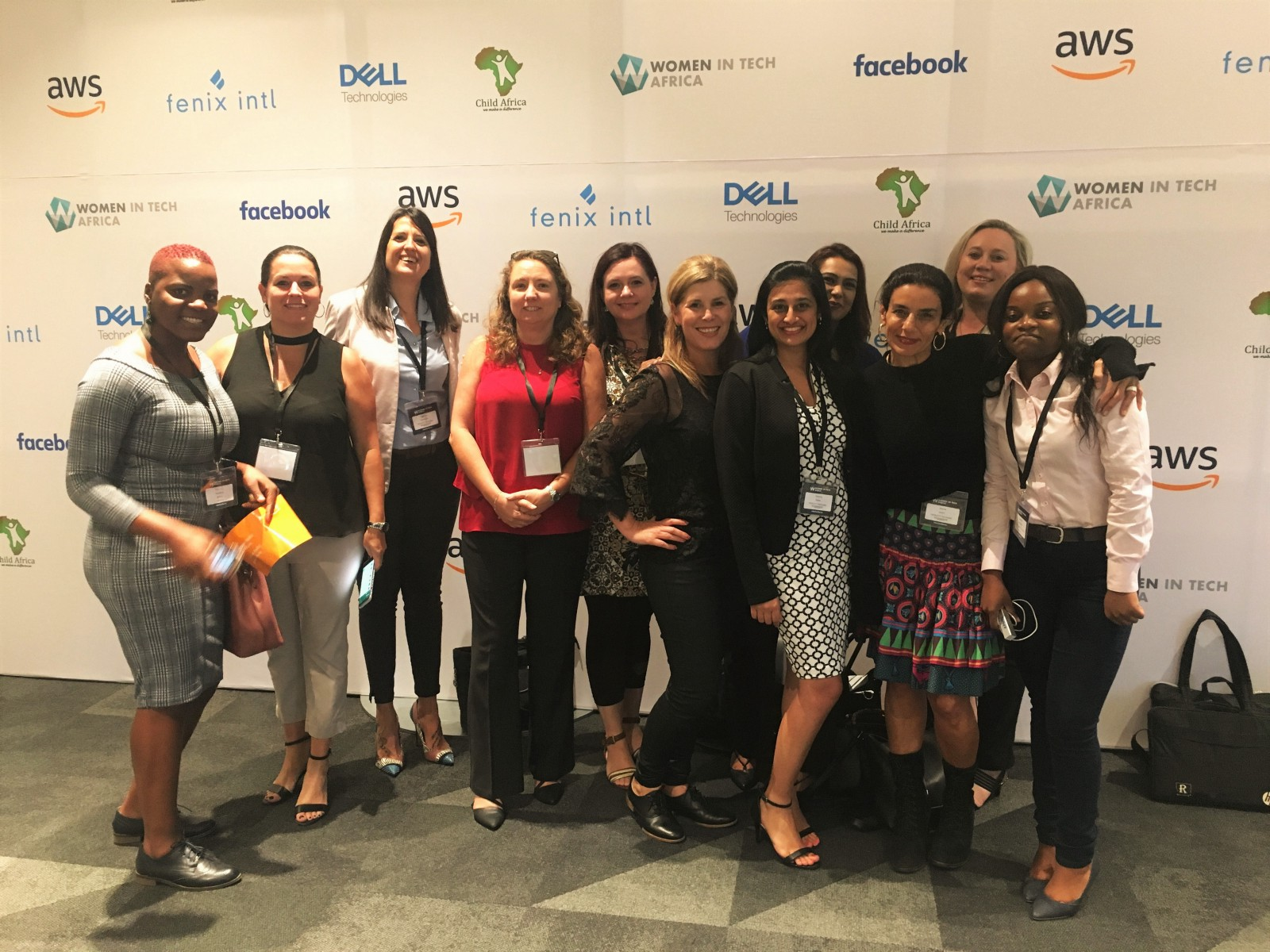 Networking at Women in Tech Africa