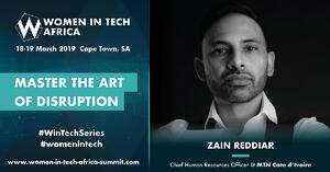 Speaker Spotlight: Q&A with Zain Reddiar, Chief Human Resources Officer @ MTN Cote d'Ivoire