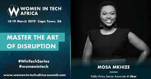 Speaker Spotlight: Q&A with Mosa Mkhize, Public Policy SeniorAssociate @ Uber