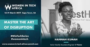 Speaker Spotlight: Q&A withHannah Kumah, Senior Quality Assurance Engineer @ Viamo