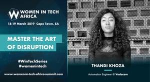 Speaker Spotlight: Q&A withThandi Khoza, Automation Engineer @ Vodacom