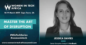 Speaker Spotlight: Q&A with Jessica Davies, Senior Disruption Analyst @ Nedbank